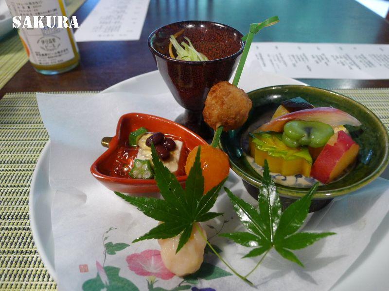 修善寺と伊豆・吉奈温泉の旅④東府や Resort&Spa Izu 夕食 「懐石茶や 水音」にて