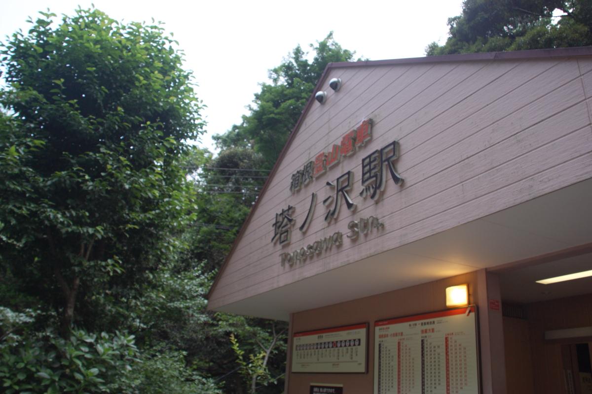 箱根登山鉄道塔ノ沢駅