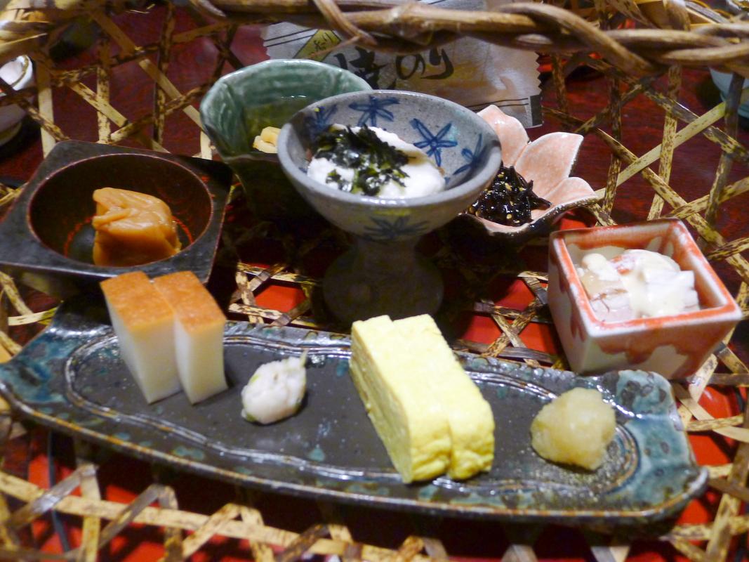 箱根塔ノ沢温泉_山の茶屋 朝食