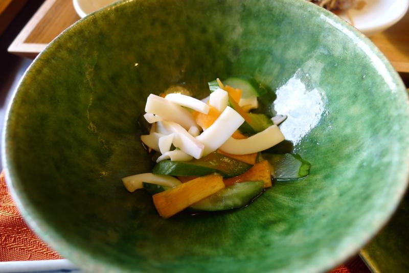 萃 sui-諏訪湖(すい すわこ) 個室食事処でいただく朝食メニュー紹介 酢の物