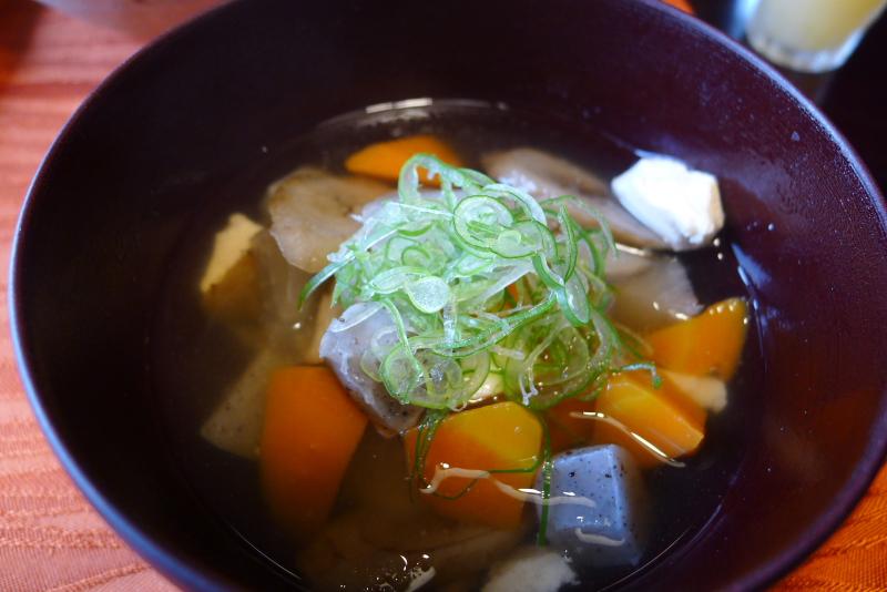 萃 sui-諏訪湖(すい すわこ) 個室食事処でいただく朝食メニュー紹介 けんちん汁