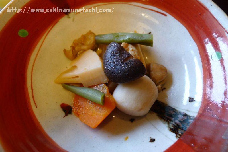 萃 sui-諏訪湖(すい すわこ) 個室食事処でいただく朝食メニュー紹介 季節のいり鶏