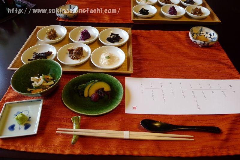 長野・諏訪旅行記:その⑥『萃 sui-諏訪湖(すい すわこ)』朝食編:葛あんをかけていただくおかゆが美味♪諏訪湖遊覧船にも乗船しました。
