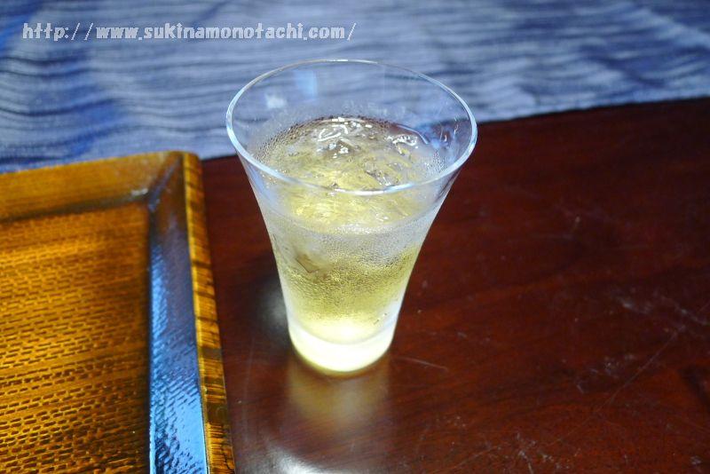 萃 sui-諏訪湖(すい すわこ)の個室食事処でいただく食前酒