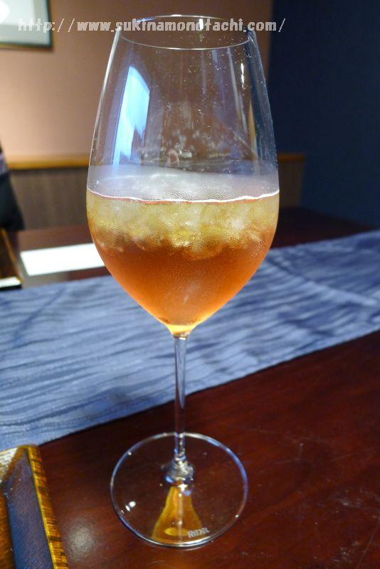 萃 sui-諏訪湖(すい すわこ)の夕食時オーダーしたデトックスという名のアルコール印象