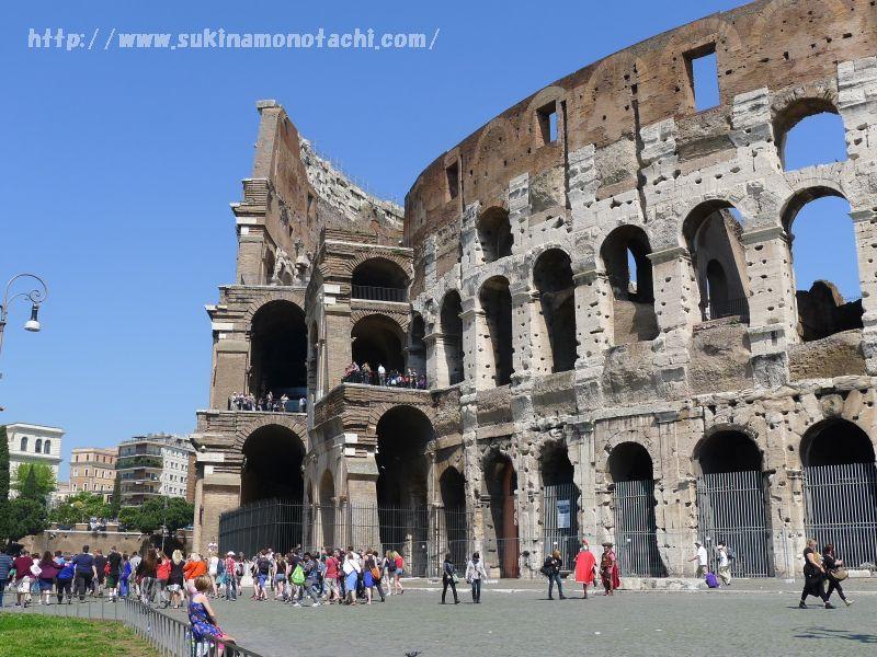 ウィーン・ローマ旅行記:その⑤「コロッセオ」「フォロ・ロマーノ」「真実の口」を巡りました。『グラディエーター』『ローマの休日』の舞台へ
