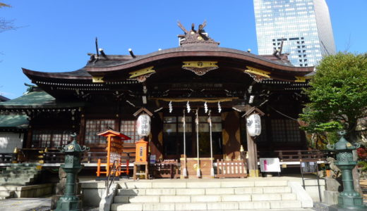 勝負運アップ!新宿中央公園に隣接する新宿十二社熊野神社に参拝、御朱印を拝受。【東京都新宿区】