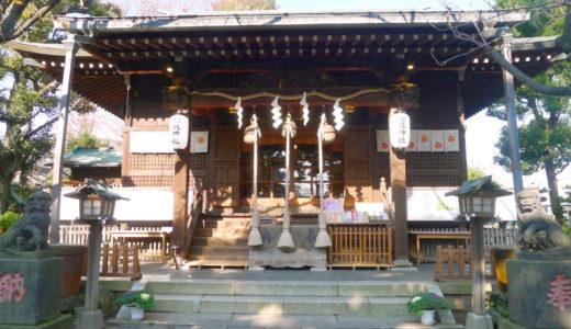 七社神社に参拝、御朱印を拝受。子供を守る狛犬がいる子育て・安産の御利益がある神社【東京都北区】