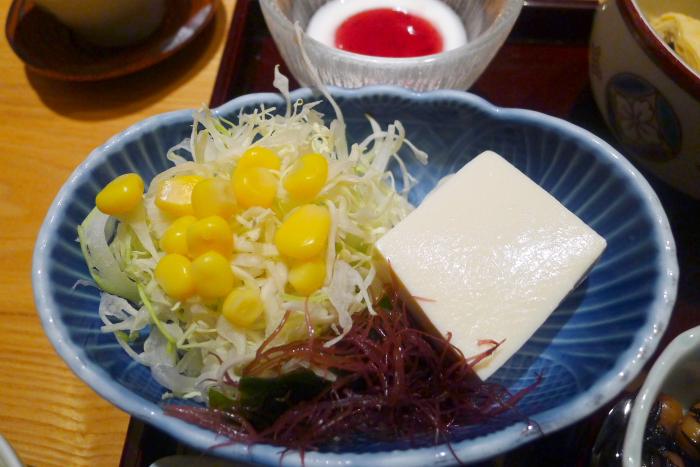 修善寺_ねの湯対山荘_朝食の野菜サラダ