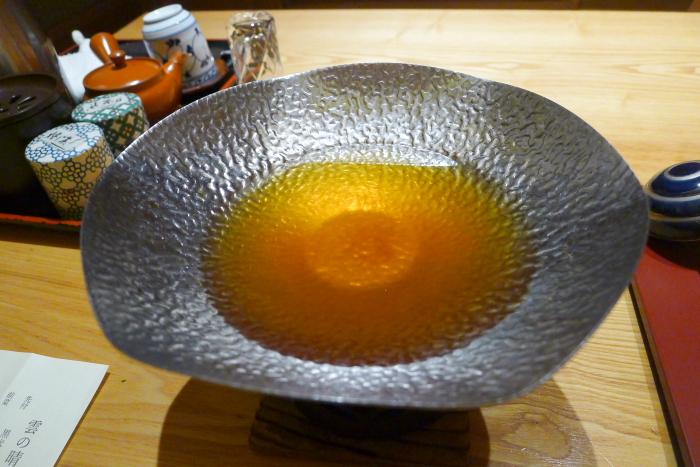 ねの湯対山荘の夕食の小鍋
