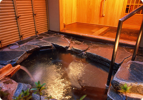 松月岩風呂