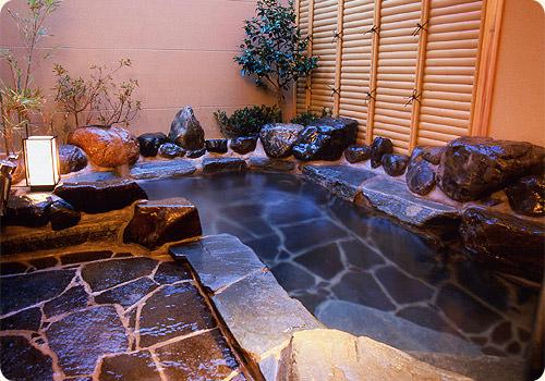 松月庭風呂
