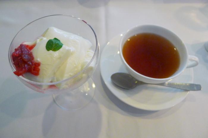 オーベルジュ湯楽の朝食、本日のデザート