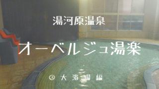 オーベルジュ湯楽:大浴場編