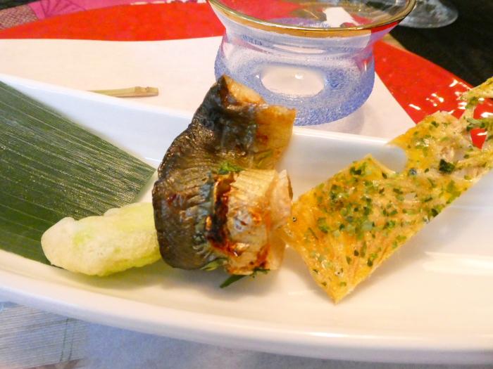 オーベルジュ鈴鐘_夕食 前菜の個別写真3品