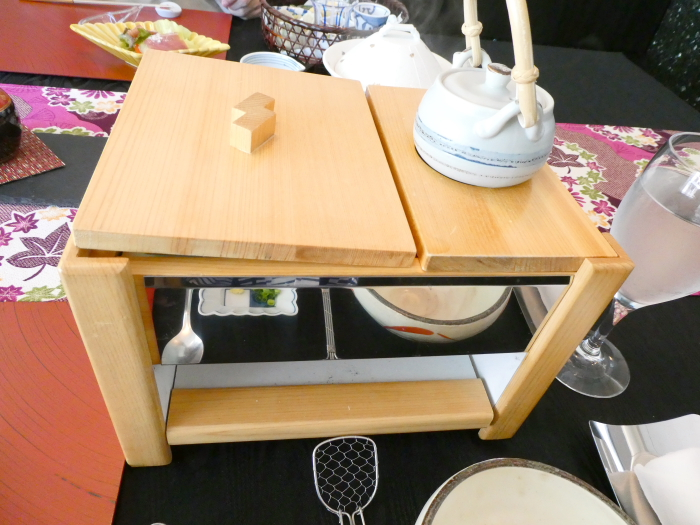 オーベルジュ鈴鐘_朝食の湯豆腐