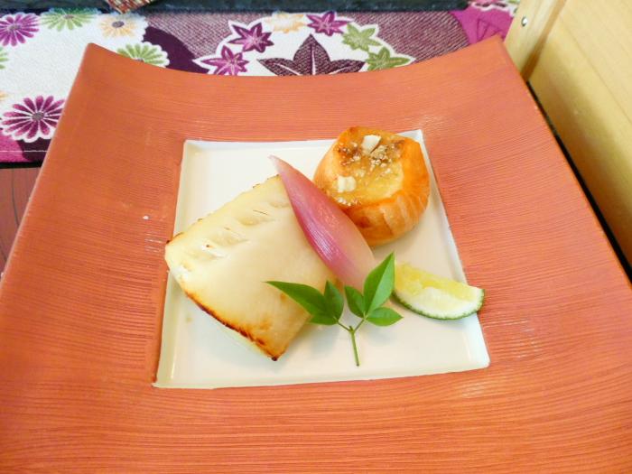 オーベルジュ鈴鐘_朝食の焼き魚