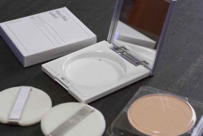 マキアレイベル透明感ベースメイクセット 仕上げパウダー