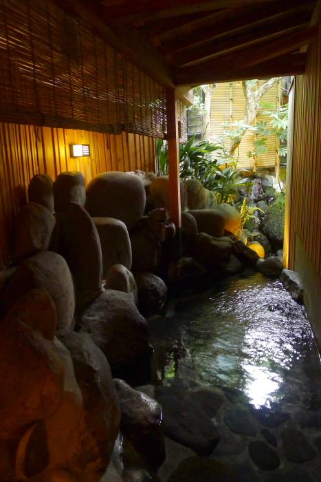 ねの湯対山荘_大浴場の露天風呂
