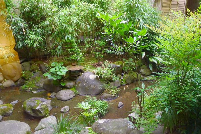 修善寺温泉_ねの湯対山荘 中庭