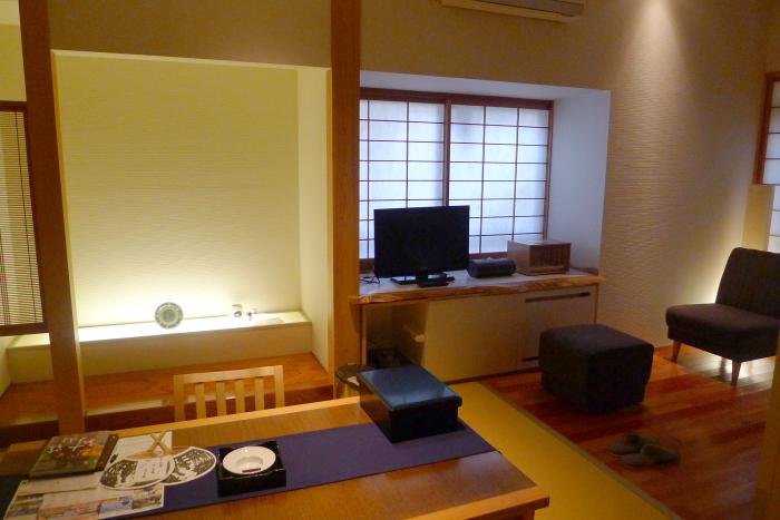 修善寺温泉_ねの湯対山荘_メゾネット式客室の全景