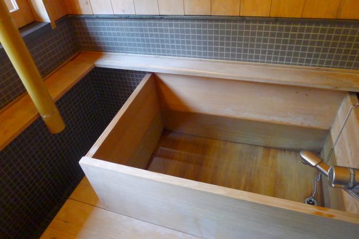 修善寺温泉_ねの湯対山荘_メゾネット式客室 お風呂