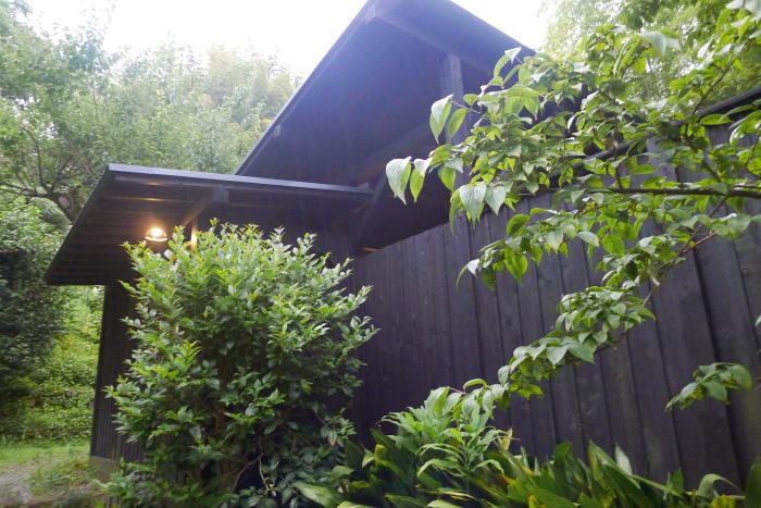 オーベルジュ湯楽 貸切露天風呂の建物外観
