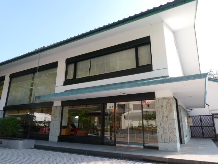 磐梯熱海温泉 オーベルジュ鈴鐘の建物外観