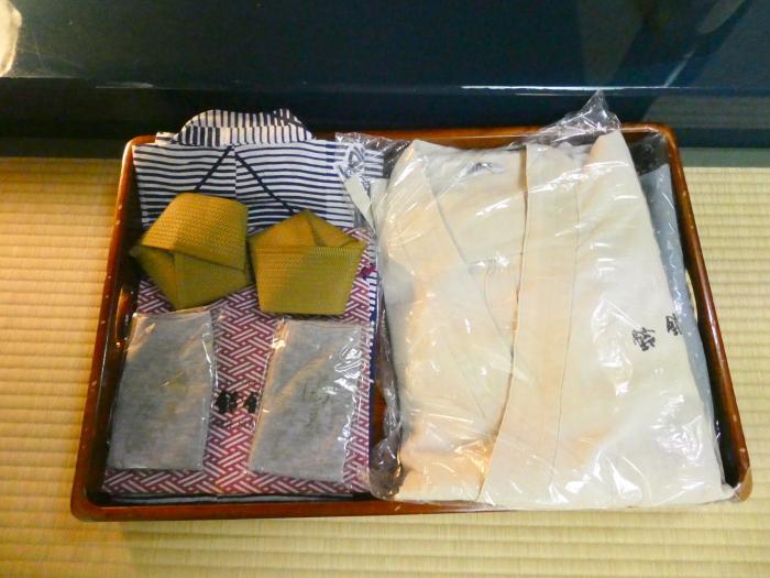 オーベルジュ鈴鐘_和室にセットされた浴衣