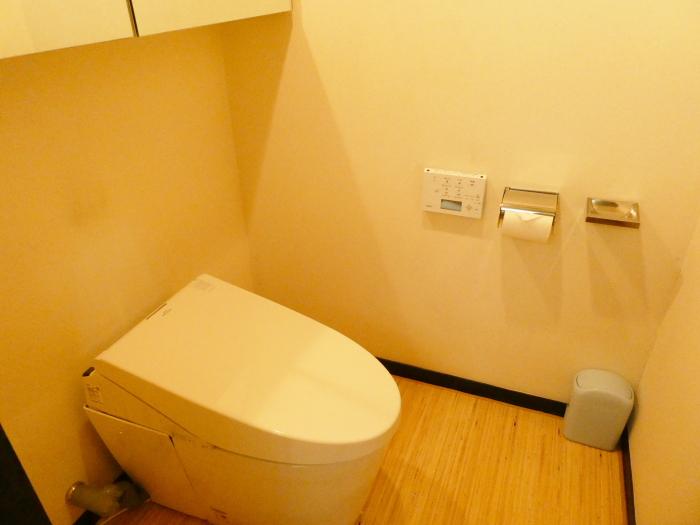 オーベルジュ鈴鐘_部屋のトイレ