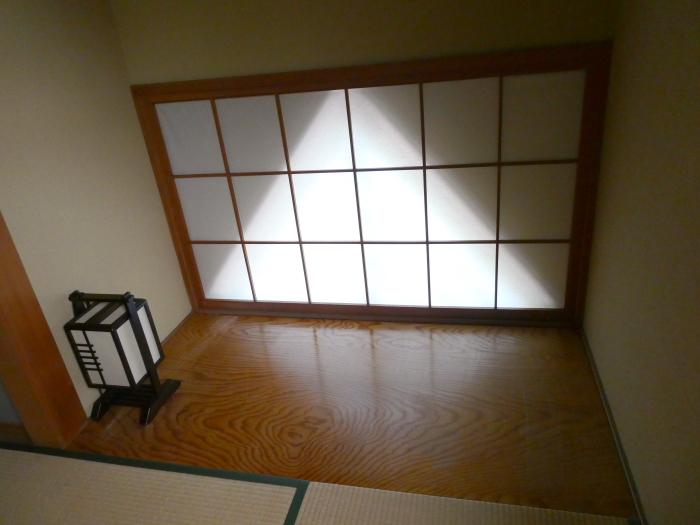 オーベルジュ鈴鐘 藍の和室の窓