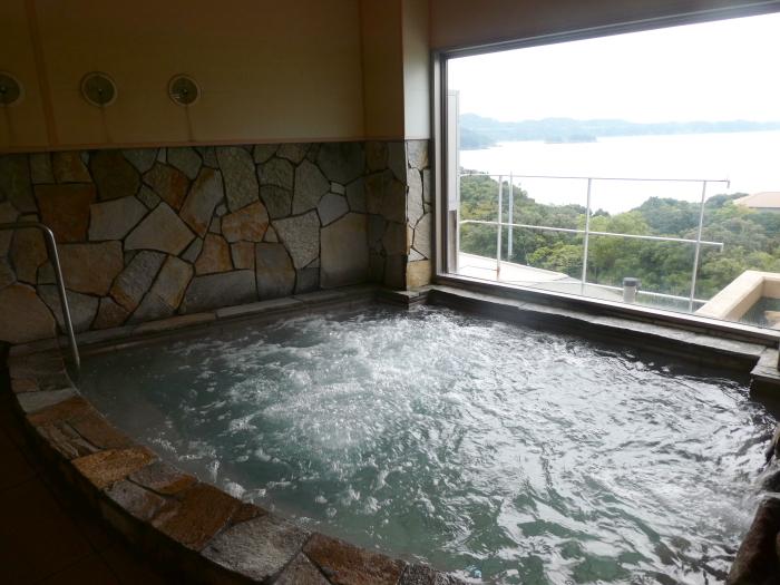 淡路島_うめ丸_うずしお温泉の大浴場(ジャグジー)