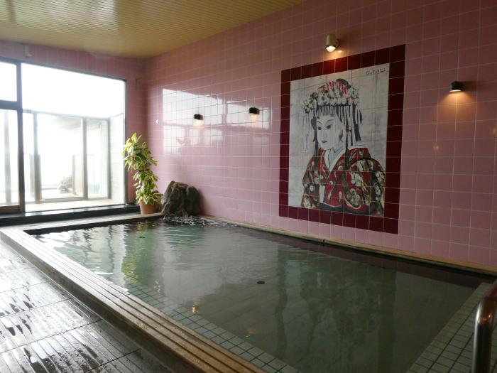 淡路島_うめ丸_うずしお温泉の大浴場(内風呂)