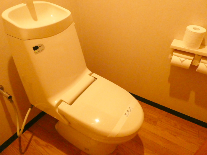淡路島_うめ丸_露天風呂付き客室 2階のトイレ
