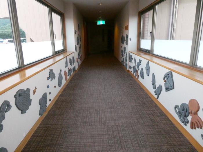 淡路島のうめ丸 別館への渡り廊下