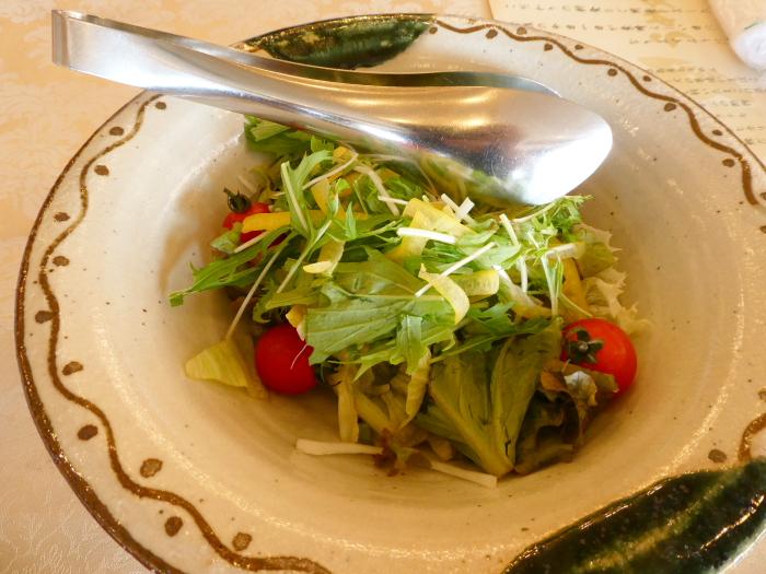 淡路島_うめ丸朝食 野菜サラダ