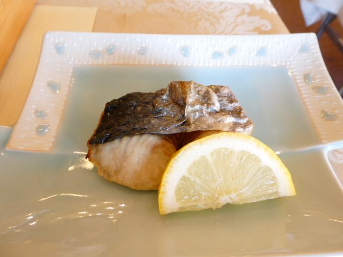 淡路島_うめ丸朝食 焼き魚