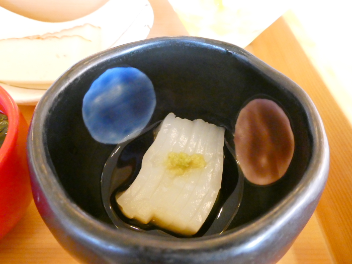 淡路島_うめ丸朝食 いかそうめん
