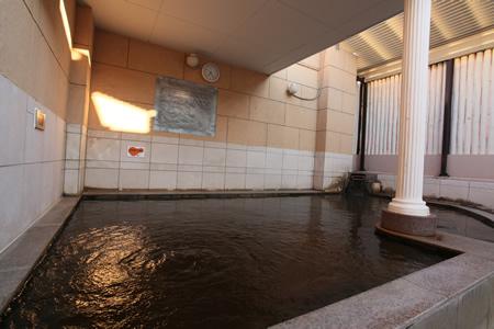 板橋天然温泉スパディオの露天風呂