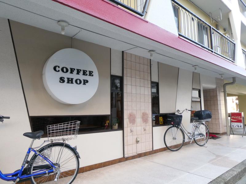 東京都板橋区大山にある純喫茶ピノキオの外観
