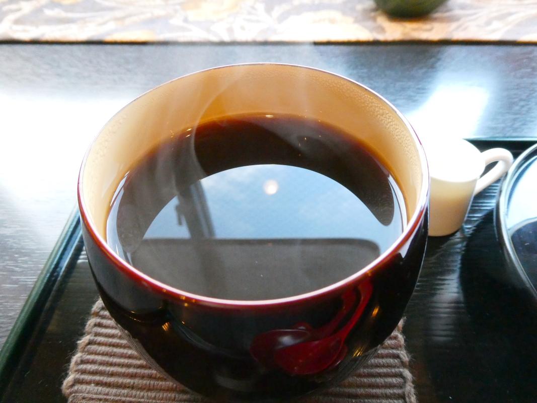 金沢カフェ 漆の実のコーヒー