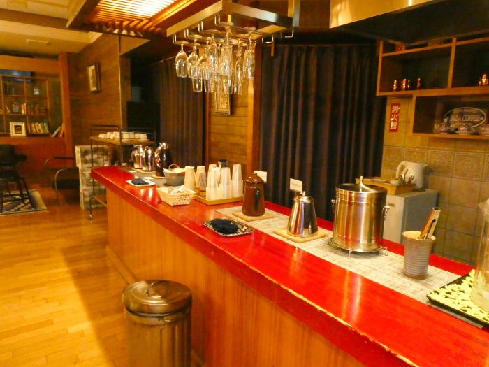 あんこうの宿まるみつ旅館 ラウンジ「縁」の豊富なフリードリンク