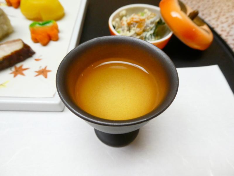 下田野の花亭こむらさきの夕食の食前酒