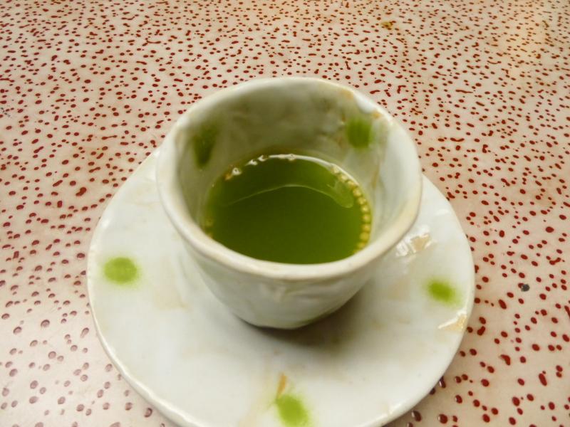 伊豆下田_野の花亭こむらさきの朝食 お茶
