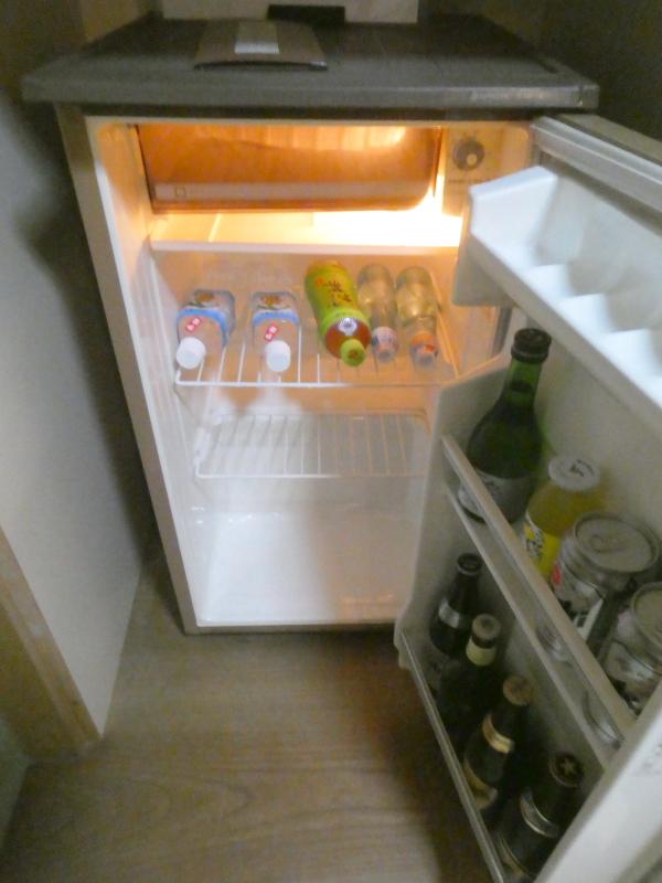 伊豆下田野の花亭こむらさきの「こぶし」の冷蔵庫