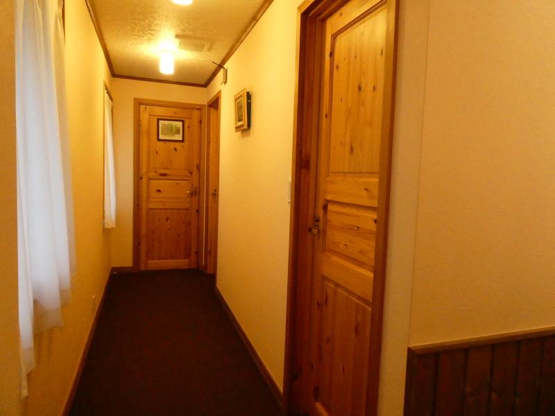 オーベルジュミヨーの2階の廊下