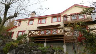 伊豆高原オーベルジュミヨーの外観 スウェーデンハウスの一軒宿