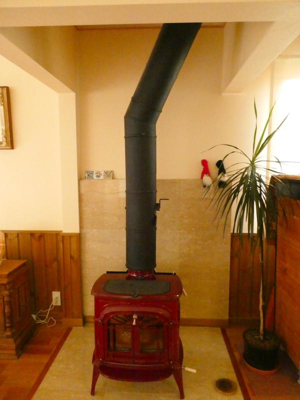 伊豆高原オーベルジュミヨーのレストランにある暖炉