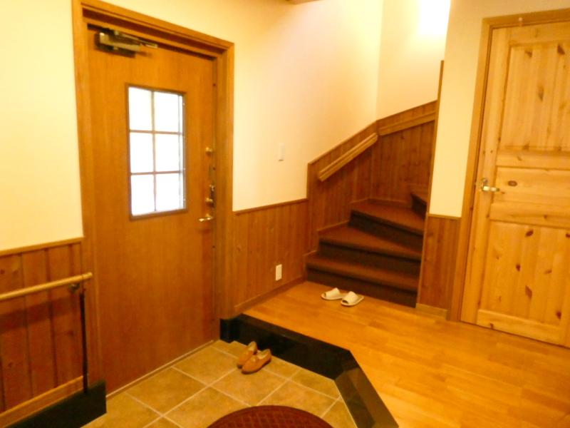 伊豆高原オーベルジュミヨーの玄関