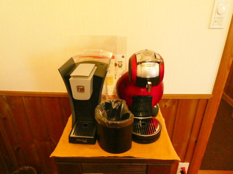 伊豆高原オーベルジュミヨーのコーヒーメーカー